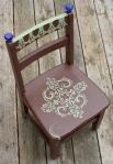 chocolate & greenchair