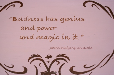Goethe quote detail